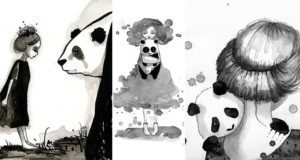 June Leeloo Paints Pandas And Maidens