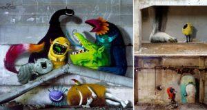 Kim Kwacz Monzter Murals