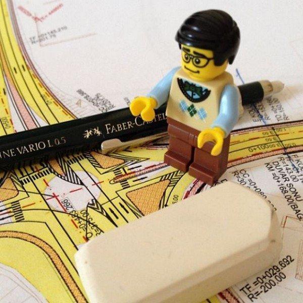 LEGO figure map