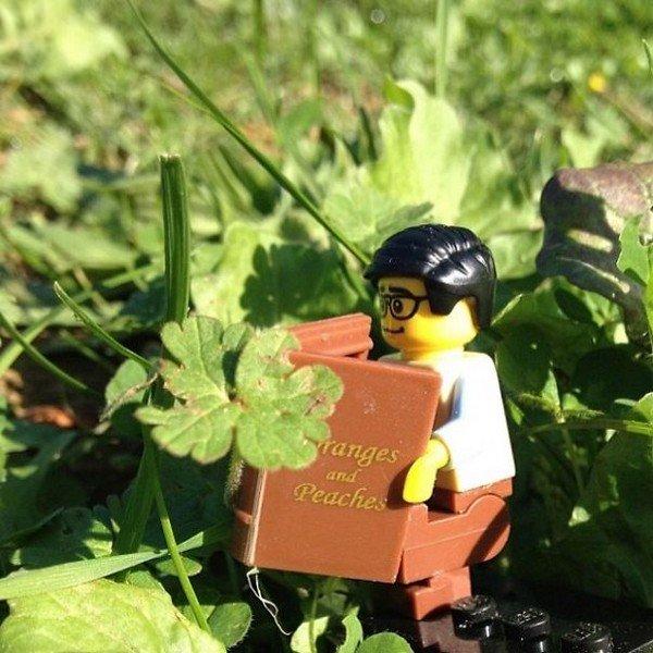 LEGO figure reading