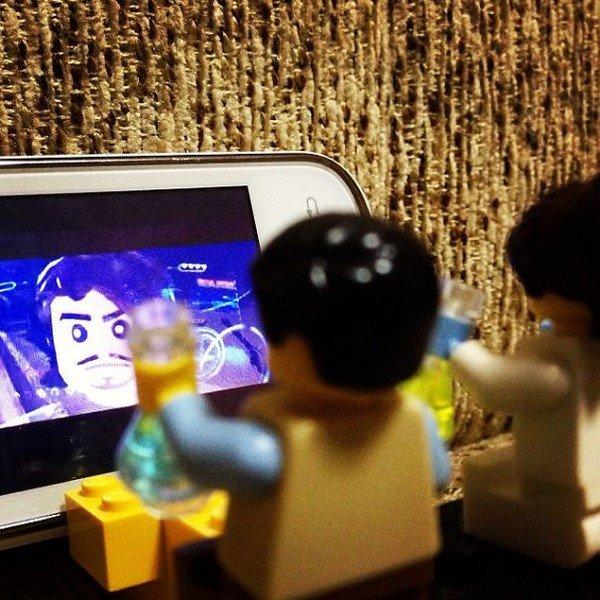 LEGO figures movie