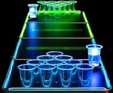Light Up Beer Pong Set
