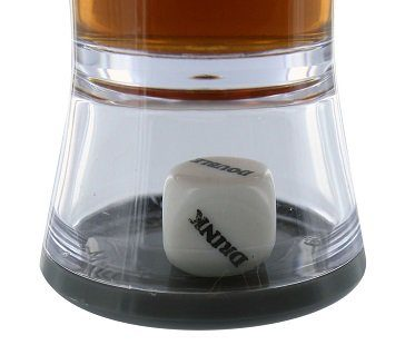 Loaded Dice Shot Glass drink