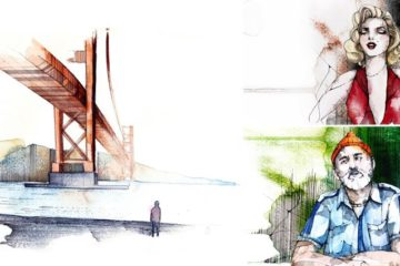 Movie Inspired Illustrations