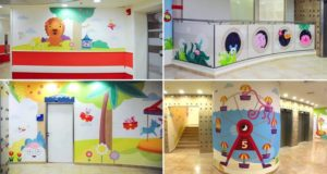 Murals To Decorate Hospital Pediatric Department