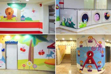 Murals To Decorate Hospital Pediatric Department