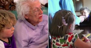 New Initiative Pairs Preschoolers With The Elderly
