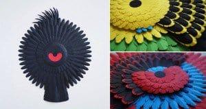 Paper Art Inspired By Australian Birds