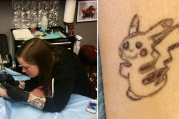 Pikachu Tattoo Cover Up