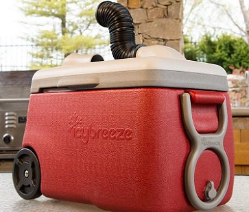 Portable Air Conditioner And Cooler red