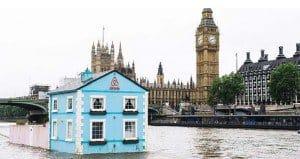 Rent Floating House River Thames