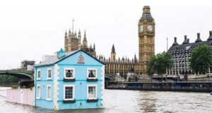 Rent Floating House River Thames