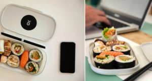 Reusable Sushi Tray Helps Save The Environment