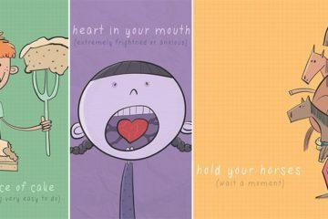 Roisin Hahessy Illustrates English Idioms