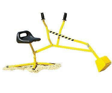Sandpit Digger crane ride