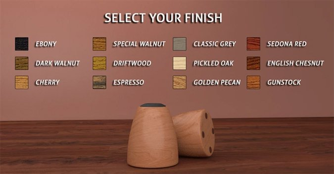 Select Your Finish
