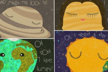 Series Of Illustrations Shows Planets Have Problems