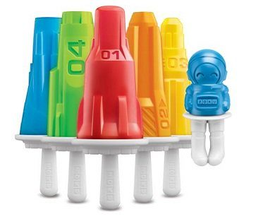 Space-Themed Popsicle Molds rockets