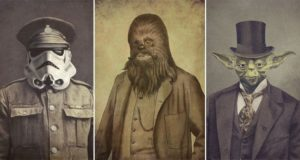Star Wars Characters As Victorian Gentlemen