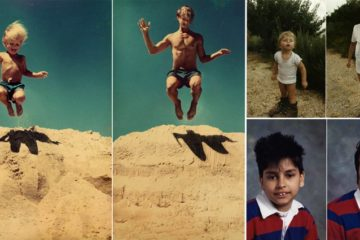 Subjects Recreate Old Photos