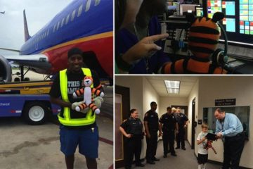 Tampa Airport Staff Take Childs Lost Toy Adventure