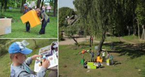 Tetris-Inspired Adaptable Urban Furniture