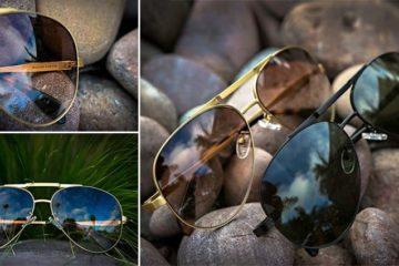 The Hughes Titanium Sunglasses