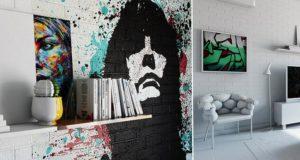 Ukranian Designer Splits Hotel Room Into Two