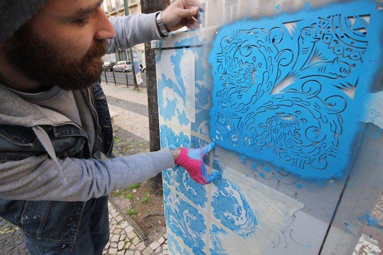 artist stencil