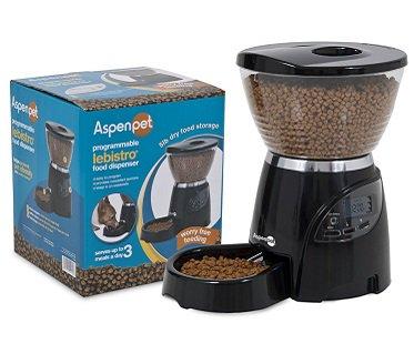 automatic pet feeder box