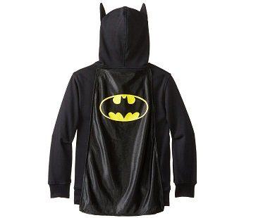 batman costume hoodie cape