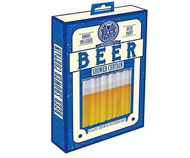 beer shower curtain box