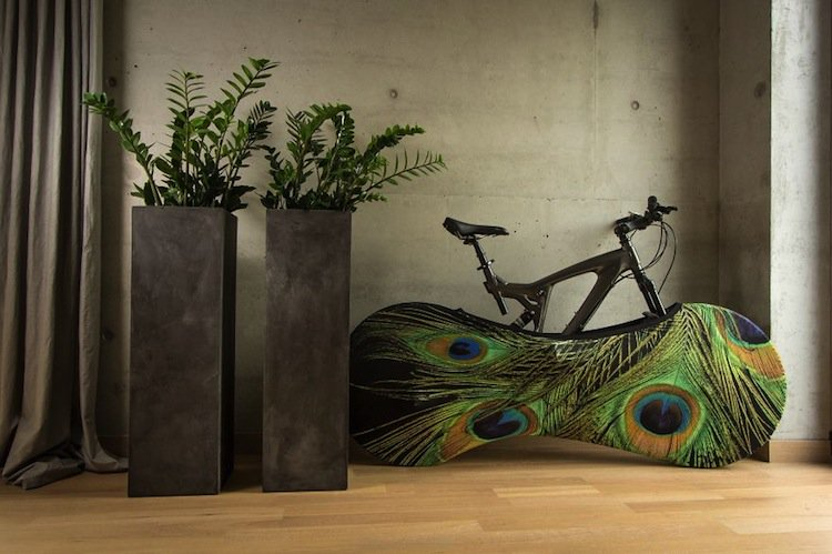 bicycle-cover-peacock