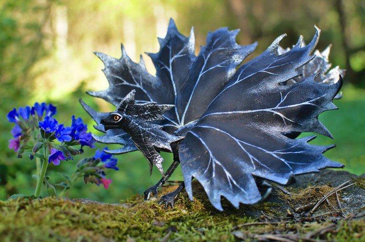 black dragon flowers
