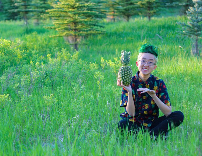 boy pineapple