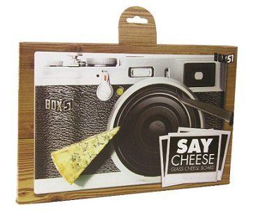 camera print cheeseboard box