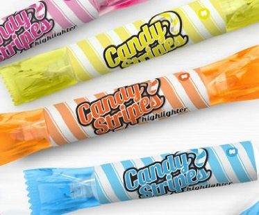 candy stripes highlighers