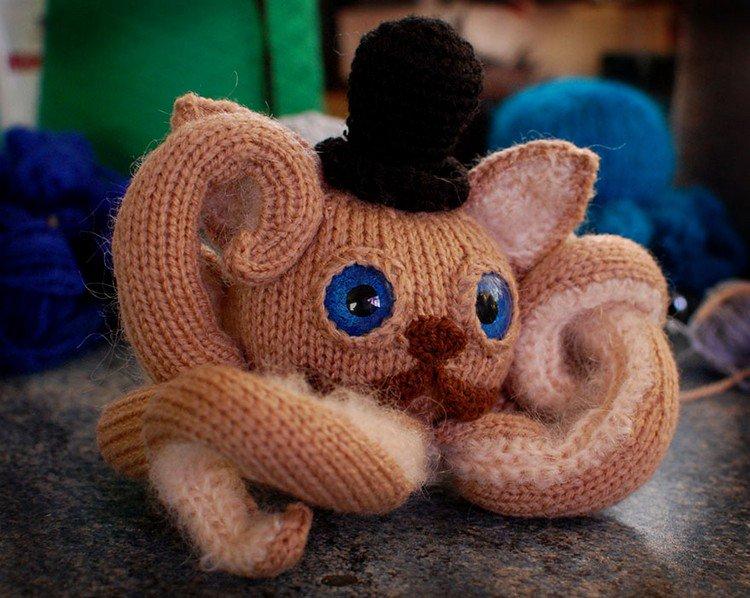 catipus crochet octopus