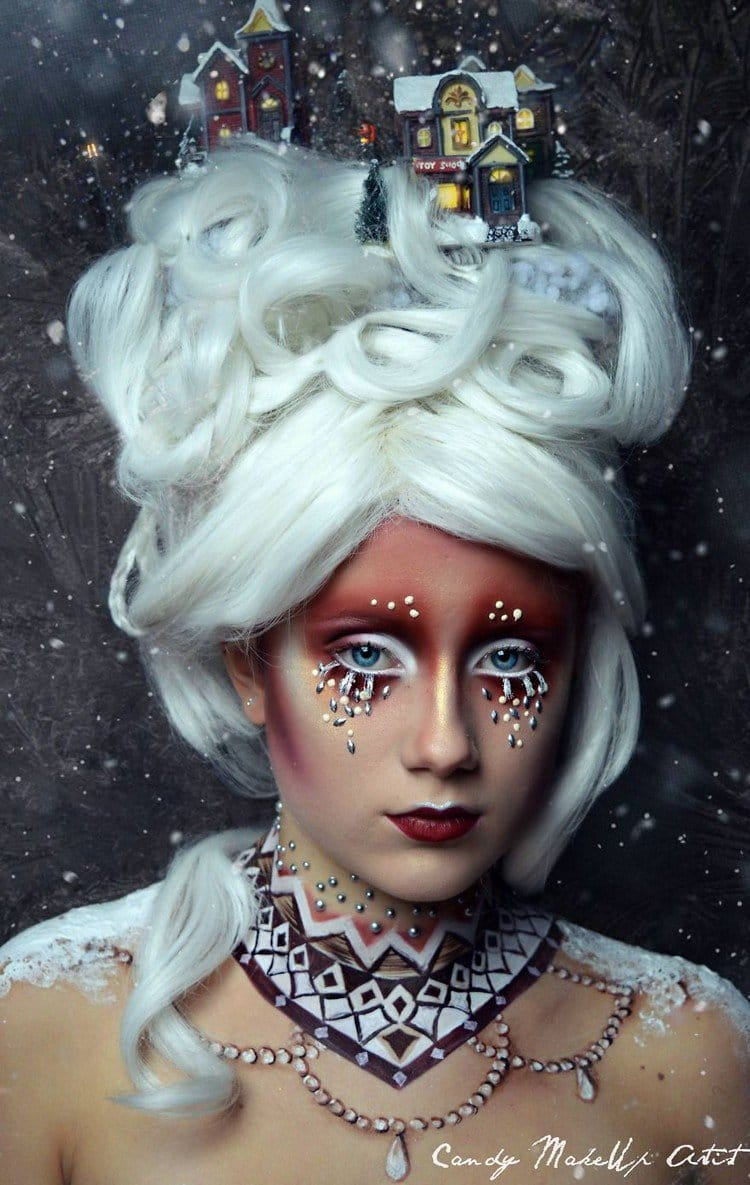 candy makeup artist creates the amazing fantasy style