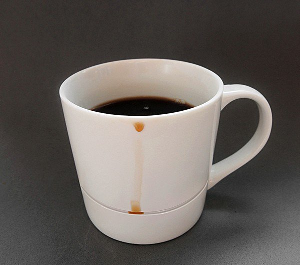 coffee cup drips