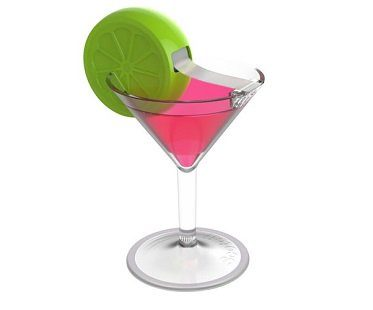 cosmo drink tape dispenser pink green