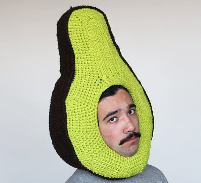 crochet vegetable man
