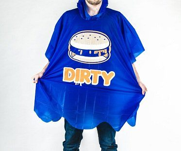 dirty burger poncho
