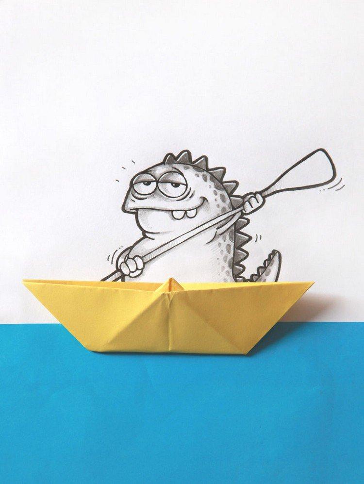 drogo origami boat