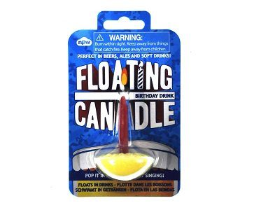floating birthday candle pack