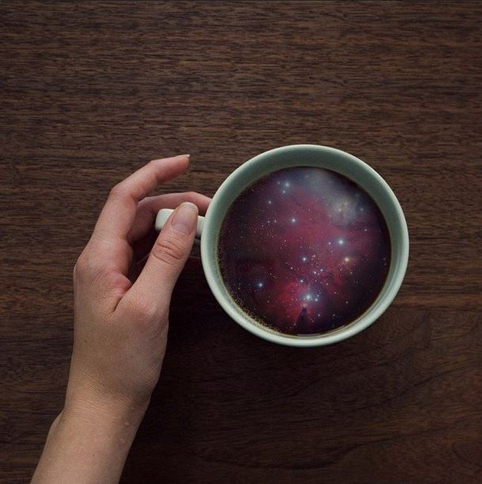 galaxy cup hand