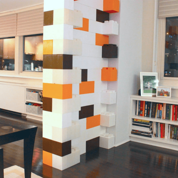 Build Your Own Furniture With These Awesome Giant Lego Bricks