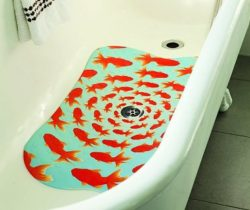 goldfish bathtub mat