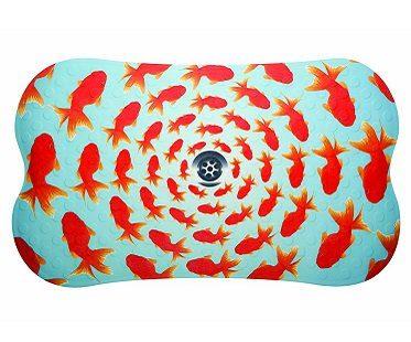 goldfish bathtub mat shower