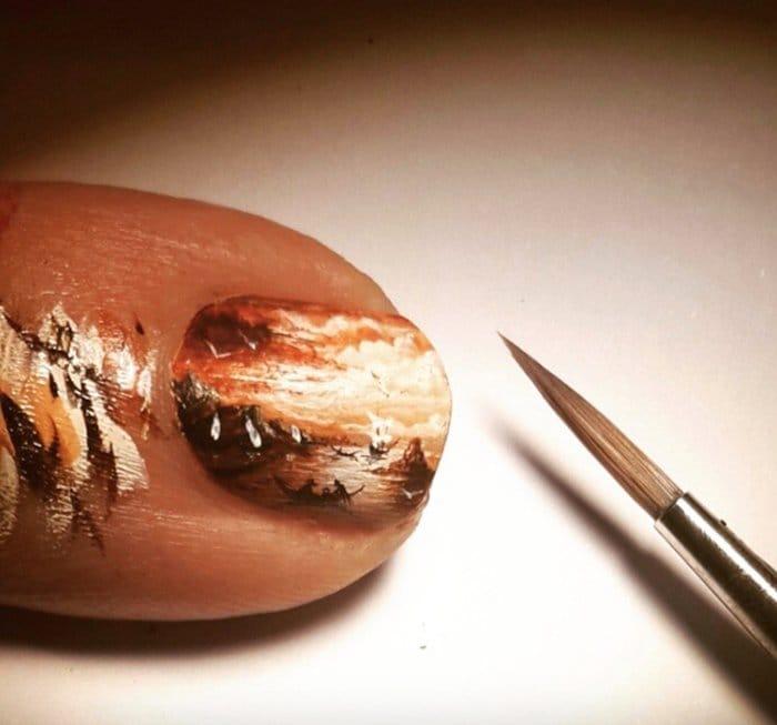 hasan-kale-miniature-paintings-finger-nail